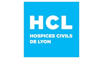 logo HCL, hospices civils de lyon